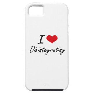 Amo el desintegrarme iPhone 5 carcasas