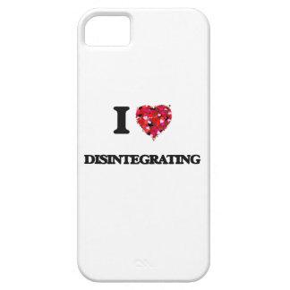 Amo el desintegrarme iPhone 5 fundas