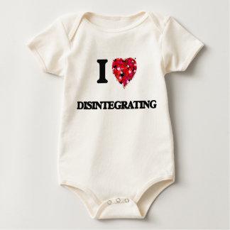 Amo el desintegrarme trajes de bebé