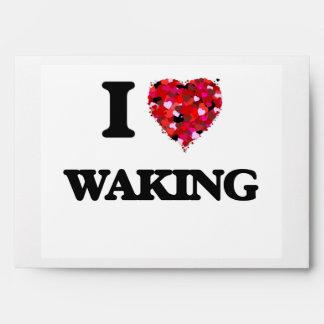 Amo el despertar sobres