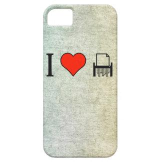 Amo el destrozar del papel iPhone 5 fundas