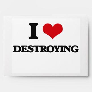 Amo el destruir