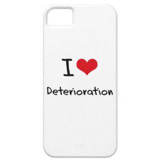 Amo el deterioro iPhone 5 protectores