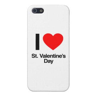 amo el día de San Valentín del St. iPhone 5 Funda