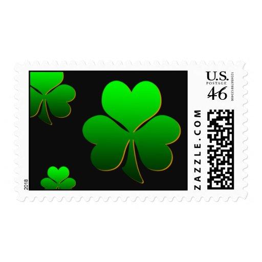 Amo el día de St Patrick Franqueo