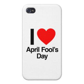 amo el día del inocente iPhone 4 carcasas