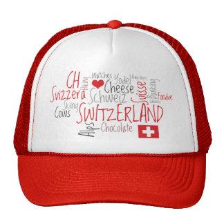 Amo el día nacional suizo de Suiza Gorro