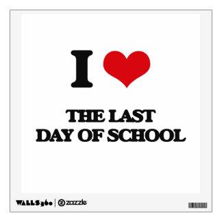 Amo el día pasado de escuela
