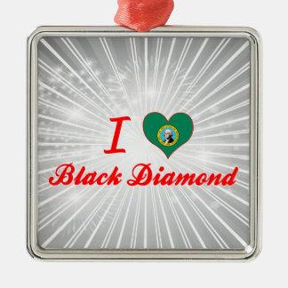 Amo el diamante negro, Washington Ornamento Para Arbol De Navidad