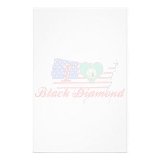 Amo el diamante negro, Washington Papeleria De Diseño