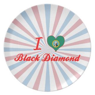Amo el diamante negro, Washington Plato