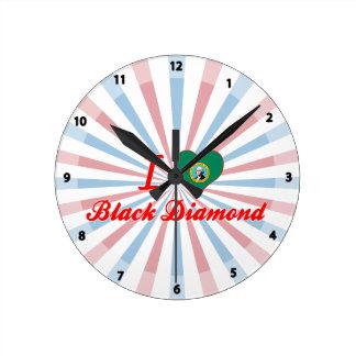 Amo el diamante negro, Washington Reloj De Pared