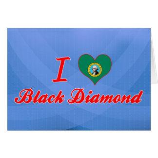 Amo el diamante negro Washington Felicitacion