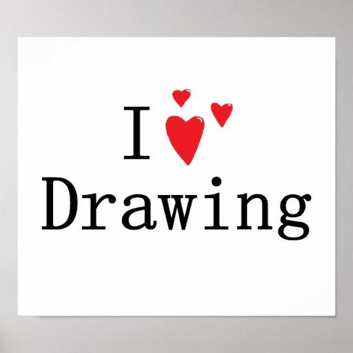 Amo el dibujar impresiones
