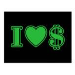 Amo el dinero postal