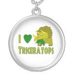 Amo (el dinosaurio lindo del Triceratops del coraz Joyeria