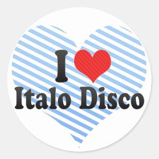 Amo el disco de Italo Pegatina Redonda