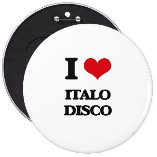 Amo el DISCO de ITALO Pins