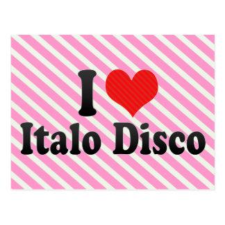 Amo el disco de Italo Tarjetas Postales