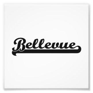 Amo el diseño clásico de Bellevue Washington Cojinete