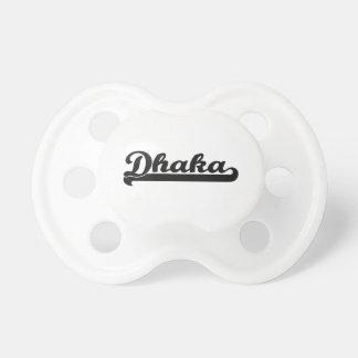 Amo el diseño clásico de Dacca Bangladesh Chupete De Bebe
