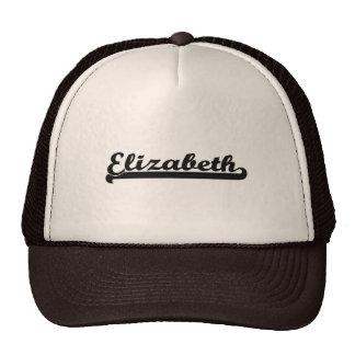 Amo el diseño clásico de Elizabeth New Jersey Gorro