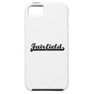Amo el diseño clásico de Fairfield California iPhone 5 Funda