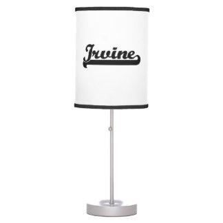 Amo el diseño clásico de Irvine California Lámpara De Escritorio