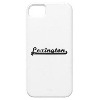 Amo el diseño clásico de Lexington Kentucky iPhone 5 Carcasas