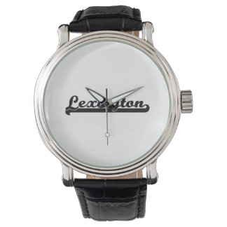 Amo el diseño clásico de Lexington Kentucky Relojes De Mano
