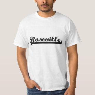 Amo el diseño clásico de Roseville California Playera