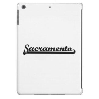 Amo el diseño clásico de Sacramento California Funda Para iPad Air