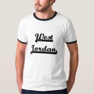 Amo el diseño clásico del oeste de Jordania Utah Playera