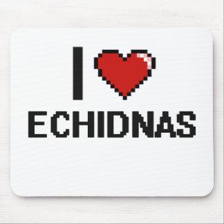 Amo el diseño de Digitaces de los Echidnas Mouse Pad