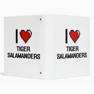Amo el diseño de Digitaces de los Salamanders de Carpeta 2,5 Cm