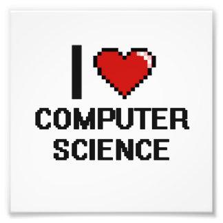 Amo el diseño de informática de Digitaces Fotografías