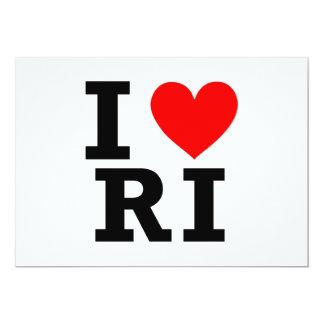 Amo el diseño de Rhode Island Comunicados