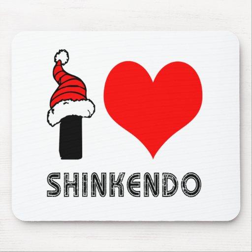 Amo el diseño de Shinkendo Alfombrillas De Ratones