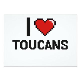"""Amo el diseño de Toucans Digital Invitación 5"""" X 7"""""""