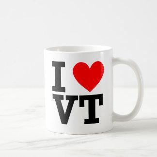 Amo el diseño de Vermont Tazas De Café