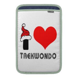 Amo el diseño del Taekwondo Fundas Macbook Air