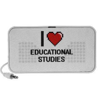 Amo el diseño educativo de Digitaces de los Notebook Altavoces