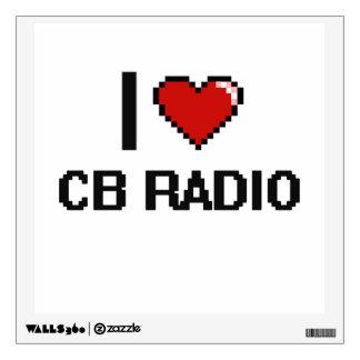 Amo el diseño retro de Digitaces de la radio CB