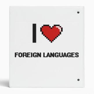 """Amo el diseño retro de Digitaces de los idiomas Carpeta 1"""""""