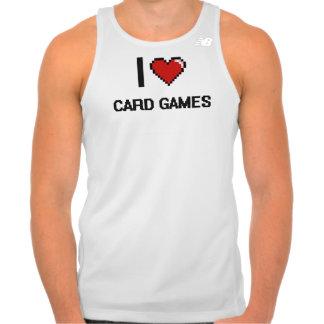 Amo el diseño retro de Digitaces de los juegos de Camiseta