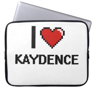 Amo el diseño retro de Kaydence Digital Fundas Computadoras