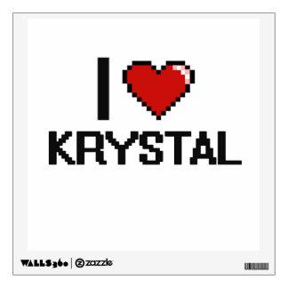 Amo el diseño retro de Krystal Digital