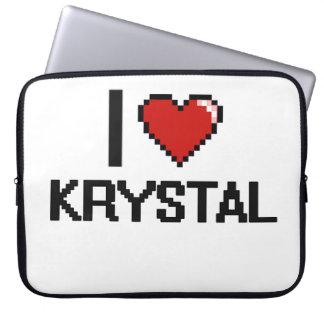 Amo el diseño retro de Krystal Digital Manga Portátil