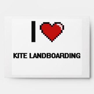 Amo el diseño retro de Landboarding Digital de la