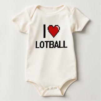 Amo el diseño retro de Lotball Digital Mameluco
